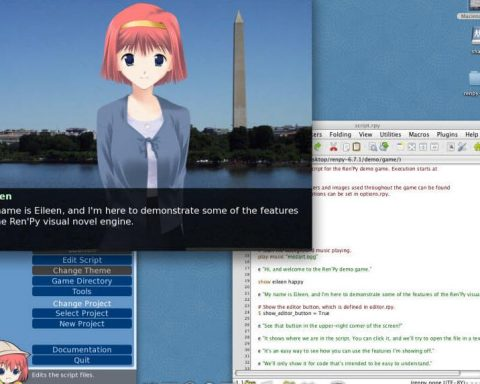 renpy visual novel maker